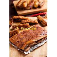 Saucu Babi Panggang Bapang Asli Bangka Roasted Pork (1 Kg)
