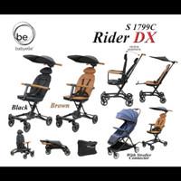Stroller Kereta Dorong Bayi Baby Elle Rider DX S 1799C - Black