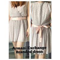 Armani Exchange women dress terusan wanita ORIGINAL preloved BRANDED