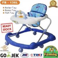 Family Baby walker 136 L - PinkTnpKardus