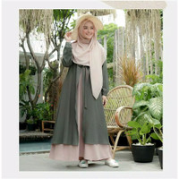 Gamis Syar'i Mufida Dress S M L XL | Fashion Hijab | Fashion Muslimah
