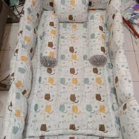 Bumper box baby+sprei set(bisa request motif)