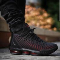 Sepatu Basket Pria Nike Lebron 16 Fresh Bred Premium Big Size 44 45