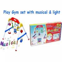 Baby musical play gym / musik mainan rattle bayi anak playgym