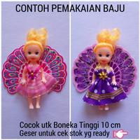 Baju Boneka Barbie Bayi KELLY Plus Sayap Ecer - Mainan Anak Murah