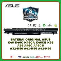 Baterai Laptop Original ASUS K46 K46C K56 A56 A46C A46CB A46CM A41-K56