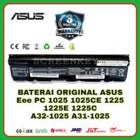 Baterai Laptop ASUS Eee PC 1025 1225 1225B 1225C A32-1025 A31-1025