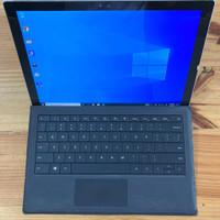 Microsoft surface pro 4 plus keyboard original spec gahar i7 512