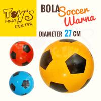 Bola Soccer Warna 27 cm