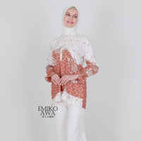 Baju Atasan Wanita Tunik Terbaru Katrina - emikoawa premium batik - LACEY