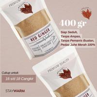 JAHE MERAH ASLI 400Gr/Jahe Bubuk/Wedang Jahe/Red Ginger/Jahe Instan