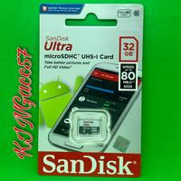 Sandisk Micro Sd Ultra Memory Card 32GB 80MBps Class 10 Microsd SDXC