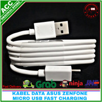 Kabel Data Fast Charging Asus Zenfone Live 1 Live 2 Original 100% 2A - Hitam