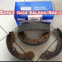 brake shoe/kampas rem belakang baleno/aerio suzuki asli original