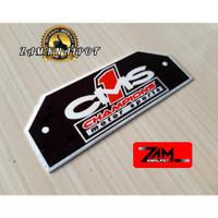 Emblem Knalpot Racing Merk CMS Gen3