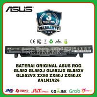 Baterai Laptop ASUS ROG ZX50 ZX50JX GL552 GL552JX GL552VX A41N1424 ORI