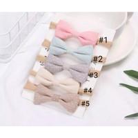 bandana nylon pita untuk bayi anak perempuan bando new