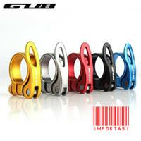 GUB CX-49 Alumunium Seatpost Clamp 34.9 cm Klem Penjepit Sadel Sepeda - Hitam