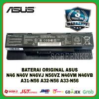 Baterai Original Laptop ASUS N46 N46V N46VJ N46VZ N46VM N46VB A31-N56