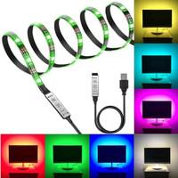 Lampu Led Strip USB 5V RGB 3528 Panjang 5 Meter ip33 Indoor