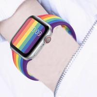 Strap Apple Watch iwatch Series 1 2 3 4 5 Pride Edition 38 40 42 44 mm