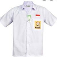 baju smp seragam atasan bahan oxford kelas 1 s/d kelas 3 no 8 -11