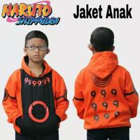 Natanshop-Jaket Sweater Anak Anime Naruto