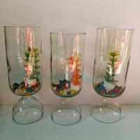 botol tabung botol cupang aquarium mini tempat ikan cupang botol kaca