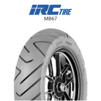 Ban Motor IRC MB 67 ( MB67 ) 110/90-12 ( Tubeless ) Matic