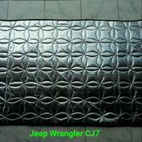 peredam panas dan suara kap mesin mobil jeep Cj7