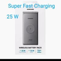 Samsung power bank 25 watt wireless 10.000mah super fast resmi sein