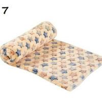 Tempat tidur hewan kasur anjing kucing bantal selimut hewan pet bed