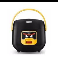 cosmos rice cooker mini 0.8 liter 3in 1 crj 6601 mcom kecil.hitam