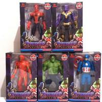 mainan figure avengers 4 (5pc)/mainan anak
