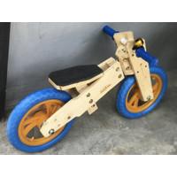 Sepeda balance push bike wooden kayu antik bukan london taxi