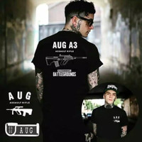 T-Shirt PUBGM Indonesia Home Made Indonesia Weapon AUG A3 New