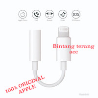 Apple Lightning to 3.5MM Headphone Jack Adapter Iphone 7 8 X Original