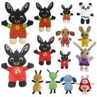boneka bing pando coco kartun kelinci hitam rabbit import besar 36cm
