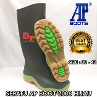 SEPATU AP BOOT 2006 HIJAU AP BOOTS 2006 GREEN - 38
