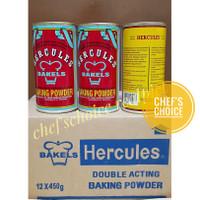 Baking Powder Hercules 450 gr / Baking Powder Double Acting Hercules