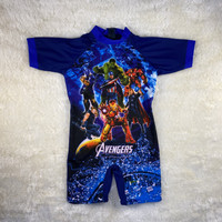 Baju renang diving anak cowok tanggung karakter 7-12 tahun