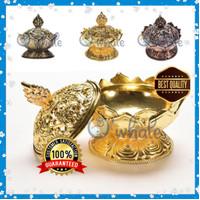 Tempat Bakar Dupa Bunga Lotus Mabkhara/ Bakhoor/ Kemenyan