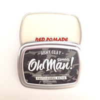 POMADE OHMAN OH MAN ARMY CLAY PROFESSIONAL MATTE WATERBASED FREESISIR
