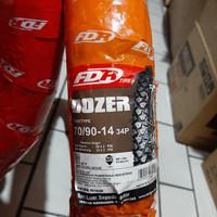 BAN LUAR FDR DOZER 70/90-14 TUBETYPE.KEMBANG CROSS