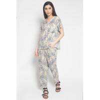 Less4More Dandelion Pajamas Creme - Piyama Baju Tidur Daster Anak