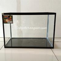aquarium glass akrilik ukuran L untuk untuk air 25liter
