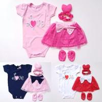 Love Polka Jumper / Jumper Bayi Perempuan Lucu Murah / Baju Bayi Cewe