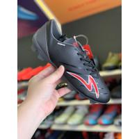 Sepatu bola specs original SWERVO GALACTICA Pro FG black grey red 2020
