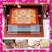Silpat Silmat Silicone Mat Alas Baking Dekorasi Kue Loyang Spuit Oven