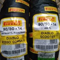 Ban sepasang VARIO BEAT PIRELLI DIABLO ROSSO CORSA 2 & DIABLO SCOOTER